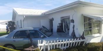 Car Hits House | Pinellas Park | Traffic Crash