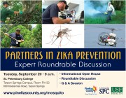Zika Prevention Roundtable Set in Tarpon Springs