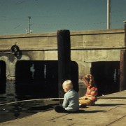 Fishing off Pier | Sassy Sandpiper | M.R. Wilson