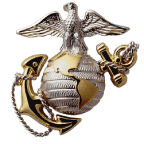 Marine Logo | Marine Emblem | Military Emblem