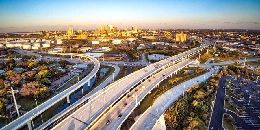 Reversible Express Lanes | Selmon Expressway | Tampa Hillsborough Expressway Authority