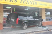 SUV Crashes into Clearwater Tennis Shop