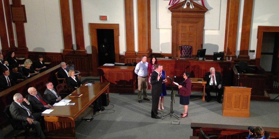 Charles Thomas | Swearing In | Tax Collector