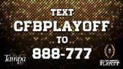 College Football Playoff | Text | Tampa