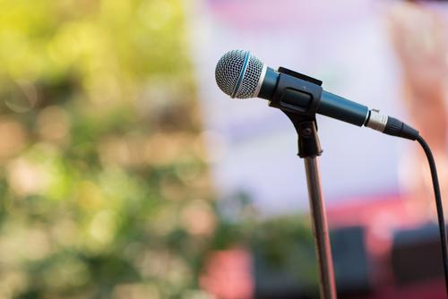 Microphone | Meeting | Town Hall Meeting
