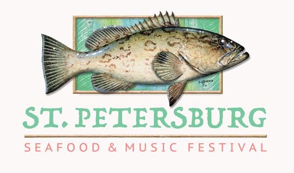 St Pete Seafood Festival | Logo | Events