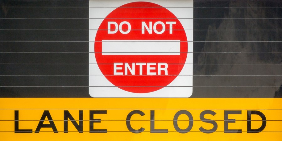 Traffic | Road Work | Lane Closed