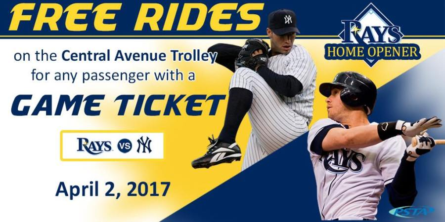 PSTA | Tampa Bay Rays | Free Ride