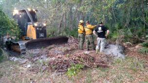 Pasco Silver Palms Fire | Florida Forest Service | Wildfires