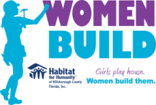 Women Build Logo | Habitat for Humanity Hillsborough | Volunteer