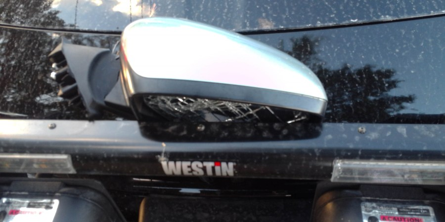 Pasco Crash Mirror   Florida Highway Patrol   Traffic Crash