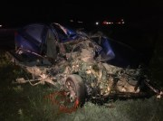Wrong-Way Driver Seriously Injured in Crash with Semi