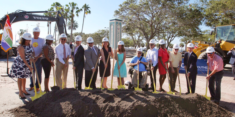 Pier Groundbreaking | St. Petersburg | Events