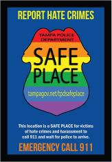 Safe Place | Tampa Police | Hate Crime