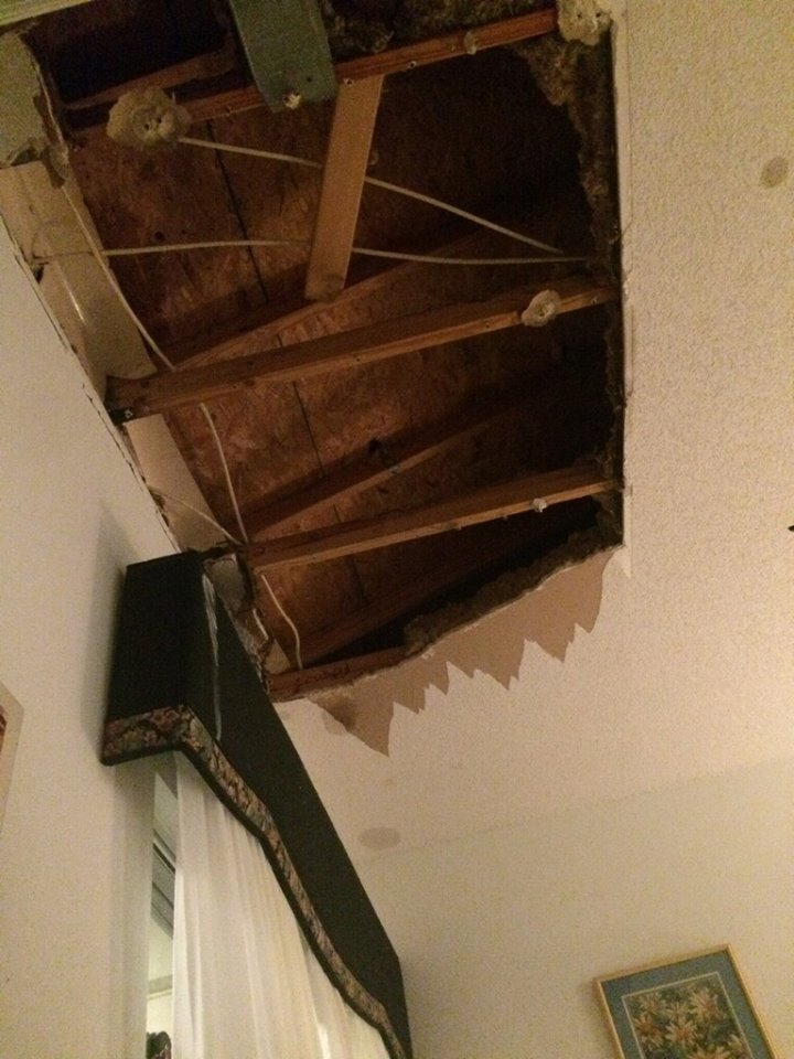 Hillsborough Fire Rescue Ceiling Collapse Aston