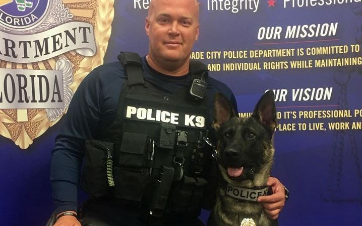 Tyke and Kevin Burns | Dade City Police | K9 Officer