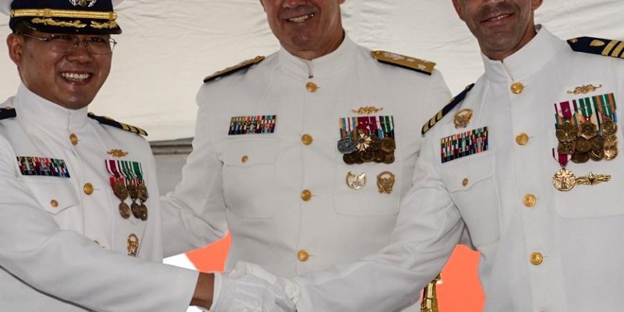 Coast Guard   Change of Command   Venturous