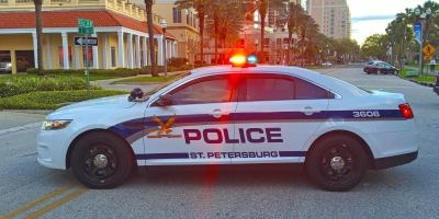 St Pete Police | Police Car | Crime