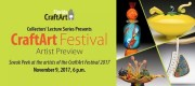 CraftArt Festival Features Seven Emerging Artists