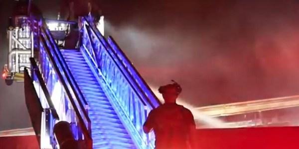 Hillsborough Fire Rescue   Causeway Boulevard Fire   FIre