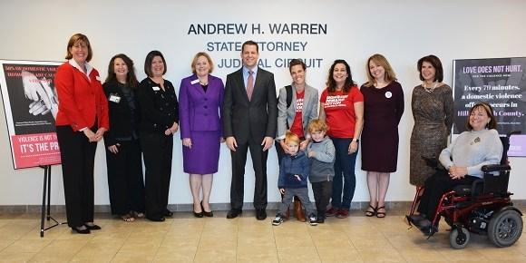 Andrew Warren | HIllsborough State Attorney | Domestic Violence