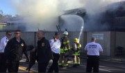 Tampa Firefighters Battle Blaze at Townhome Complex