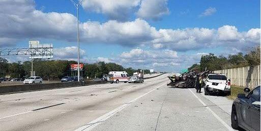 Fatal I-275 Crash | Florida Highway Patrol | Dog Accident