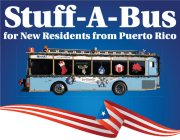 'Stuff-a-Bus' for New Residents from Puerto Rico