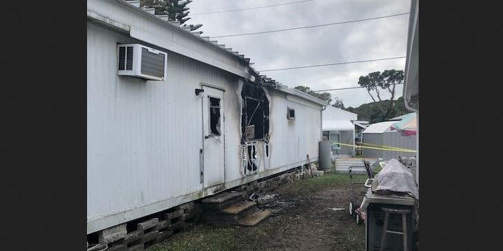 Mobile Home Fire   PInellas County Sheriff   Lealman