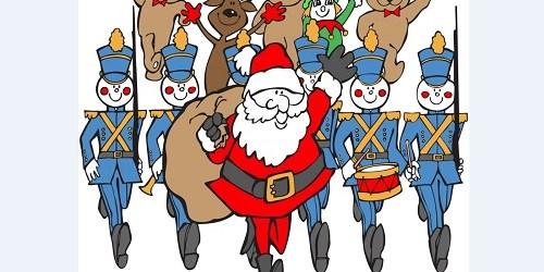 Santa Parade | Holiday | Traffic