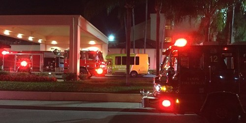 Tampa Hotel Fire | Tampa Fire Rescue | Courtyard Marriott