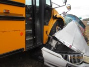 Driver Critical After Crash with Hernando School Bus