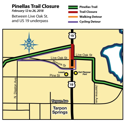 Pinellas Trail Closure   Pinellas County   TB Reporter