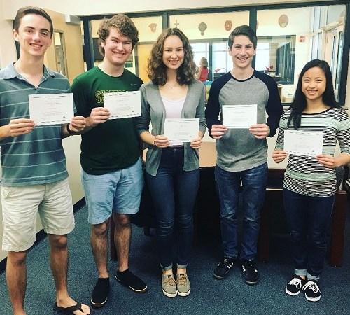 Shorecrest   National Merit Finalists   Education