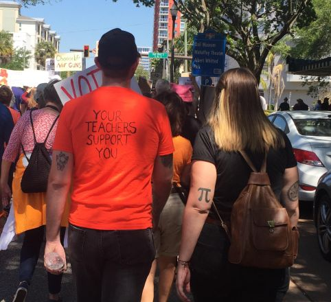 March For Our Lives Pinellas Photos 6 – Single Issue Voter