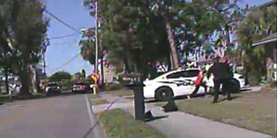 officer involvedshooting TarponSpringsPolice WomanShot