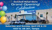 Grand Opening Set for Tampa Goodwill Store
