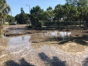 Reclaimed Water Leaks from Southwest Sewer Plant in St. Pete