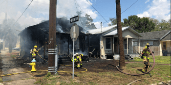 Tampa House Fire | Tampa Fire Rescue | Fire