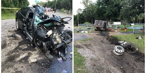 U.S. 301 Crash | Florida Highway Patrol | Head-On Crash