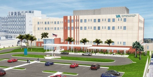 Bed Tower | James A. Haley Veterans Hospital | Health