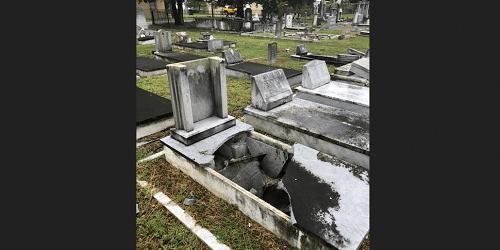 Graveyard Vandalism | Tampa Police | Crime