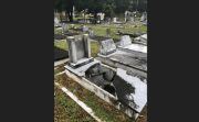 Graves Vandalized at Historic Tampa Cemetery