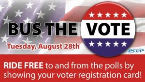 bus the vote | PSTA | Elections