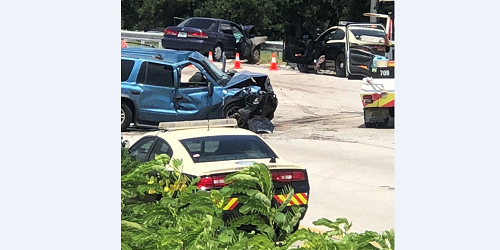 Four Seriously Injured in I-275 Crash | Tampa Bay Reporter