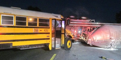 School Bus Crash | FLorida HIghway Patrol | Traffic