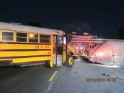 Child, 8, Injured in Hillsborough School Bus Crash