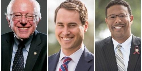 Bernie Sanders | Chris King | Sean Shaw
