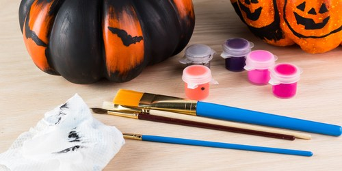 Halloween | Pumpkin Painting | Holiday