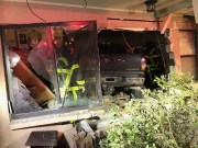 Woman Critically Injured When Truck Hits Her Home